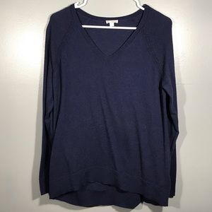 GAP blue vneck sweater